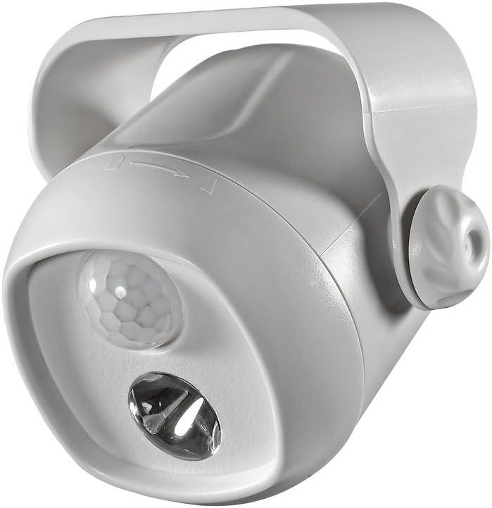 Battery Operated Dove Gray Led Single Mini Spotlight Model B200gr Amazon Com