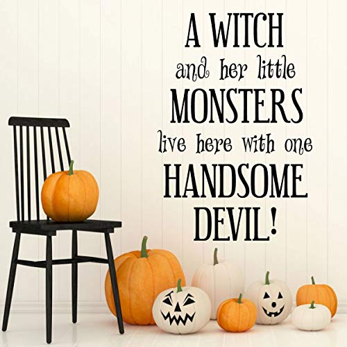 Halloween Decoration Quote for the Whole Family -Fall Vinyl Decor for the Home or Door -