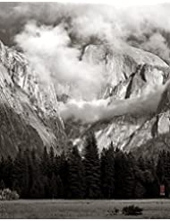 Half Dome in a Breaking Storm