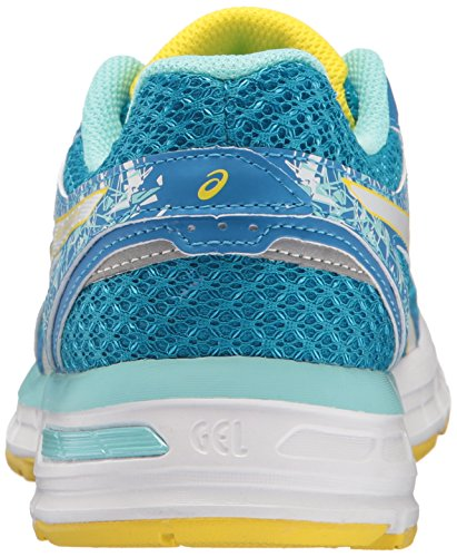 4 White Asics Gel Sun Excite Running Blue Diva T6E8N Women's Shoes RAzAwE