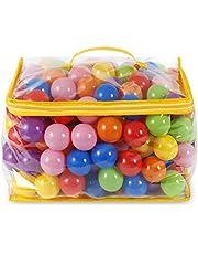 Yeios Ball Pit Balls Crush Proof Playballs in Bulks 7 Color