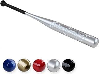 Physionics Mazza da baseball bastone baseball in alluminio 32 colore a scelta (argento) BSCL01-silber