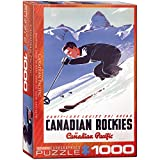 Eurographics CP Rail Lake Louise Ski Area 1000-Piece Puzzle