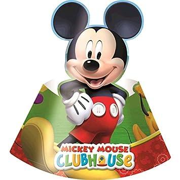 6 sombrero para fiesta de Mickey Mouse (st. 6)  Amazon.co.uk  Computers    Accessories c70793b5636