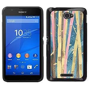Dragon Case - FOR Sony Xperia E4 - ?Never understand my words - Caja protectora de pl??stico duro de la cubierta Dise?¡Ào Slim Fit