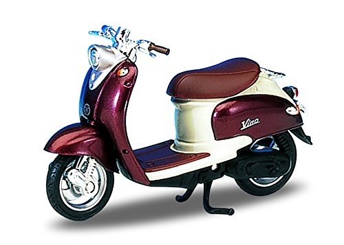Welly Die Cast Motorcycle Copper Yamaha 1999 Vino YJ50R, 1:18 Scale
