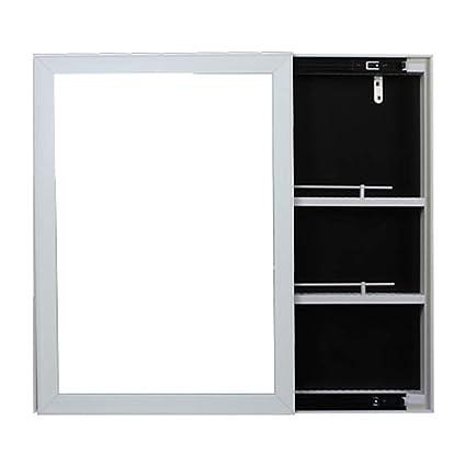 . Amazon com  Wall mounted Bathroom Cabinet Mirror Locker Toilet