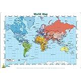 Little Wigwam World Map Placemat