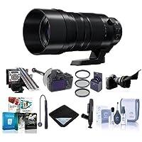Panasonic Lumix G Leica DG Vario-Elmar 100-400mm F/4-6.3 Power O.I.S. Lens - Bundle w/Filter Kit, DSLR Follow Focus, LensAlign MkII Focus Calibration, Flex Lens Shade, and More