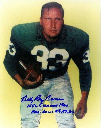 Tommy Mcdonald Autographed Philadelphia Eagles 8x10 Photo Black Custom Frame TommyMcDonald8x10BF