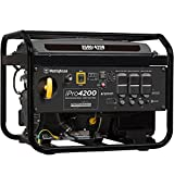 Westinghouse iPro4200 Portable Industrial Inverter Generator - 3500 Rated Watts & 4200 Peak Watts - Gas Powered - OSHA & CARB Compliant
