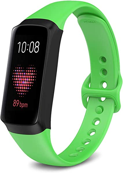 NotoCity for Samsung Galaxy Fit Band, Soft Silicone Replacement Band for Samsung Galaxy Fit SM-R370 Fitness Smartwatch, not Compatible with Galaxy Fit ...