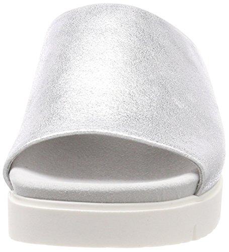 Gabor Ladies Comfort Sport Mules Multicolore (argento)