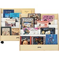 Jonti-Craft 3507JC Double Sided Pick-A-Book Stand, Mobile