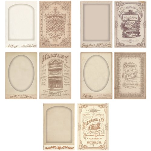 Cabinet Card Frames by Tim Holtz Idea-ology, Double-Sided, for sale  Delivered anywhere in USA