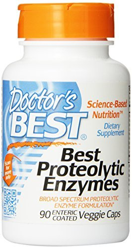Doctor's Best Proteolytic Enzymes, 90 Count (Pack of 3) by Doctor's Best