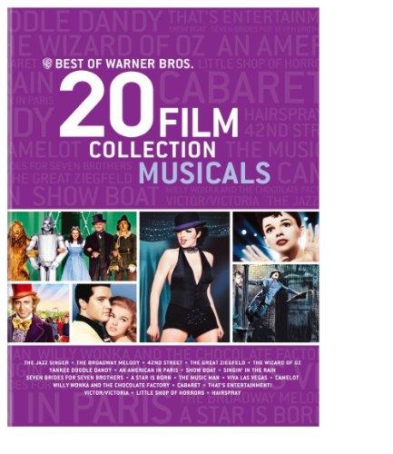 Best of Warner Bros. 20 Film Collection Musicals (Sets Dvd Box Musical)