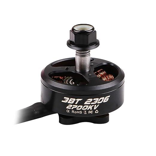 4pcs 3BHOBBY 2306 2700KV Motor sin escobillas 3-6S Lipo para 200-220 FPV Racing Frame Drone Quadcopter: Amazon.es: Juguetes y juegos