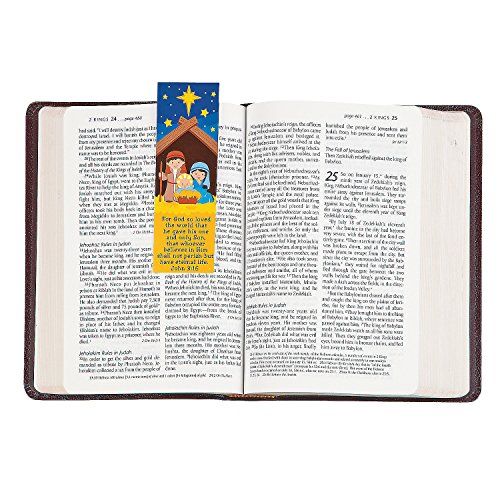 (Fun Express - Nativity Bookmarks for Christmas - Stationery - Bookmarks - Bookmarks - Christmas - 24 Pieces)