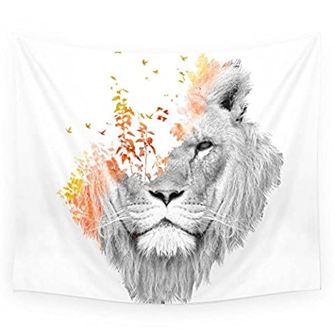 Society6 If I Roar (The King Lion) Wall Tapestry Small: 51