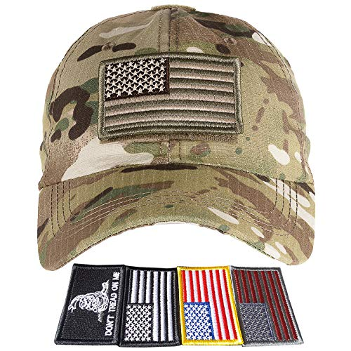 27843604014 Jual Lightbird Tactical Hat with 6 Pieces Tactical Military Patches ...