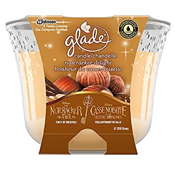 Glade Holiday Collection Triple Wick Candle, Nutcracker Delight Scent, 1 Count SC Johnson 303536