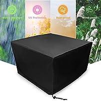 Xiliy Funda para Muebles de Jardín Impermeable Funda para Mesa ...