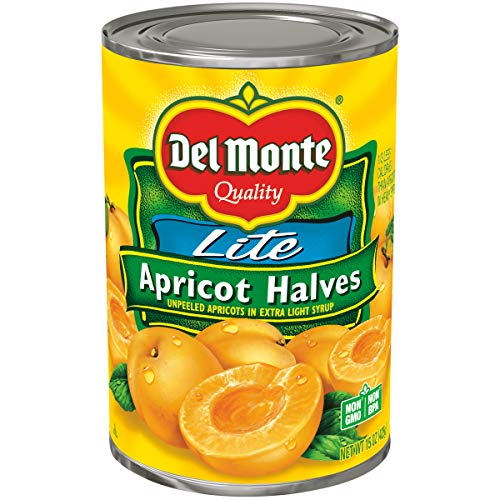 Del Monte Canned Apricot Halves in Extra Light Syrup, 15-Ounce ()