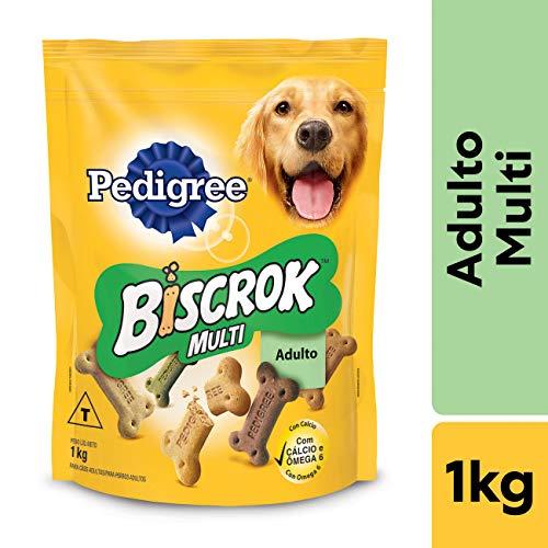 Biscoito Para Cachorros Pedigree Biscrok Multi Adultos 1kg
