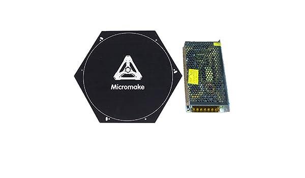 micromake cama caliente 3d impresora piezas calentador junta ...