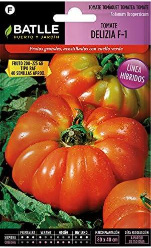 Semillas Hortícolas Híbridas - Tomate Delizia F-1 - Batlle