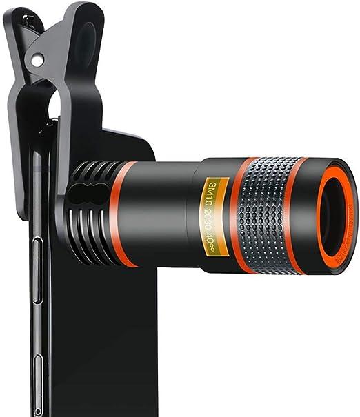ZYHA Lente para Smartphone portátil 8X con Ocular Teleobjetivo ...