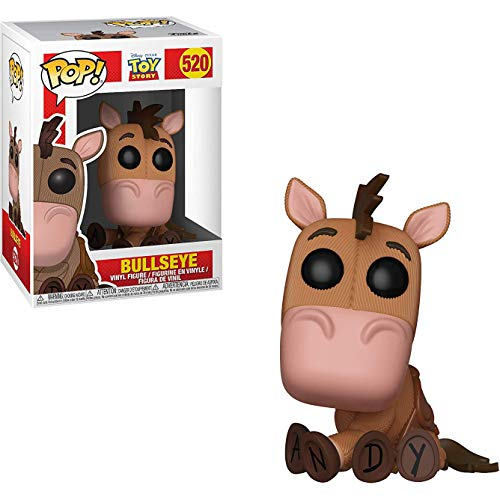 (Funko Bullseye: Disney Pixar Toy Story x POP! Vinyl Figure & 1 POP! Compatible PET Plastic Graphical Protector Bundle [#520 / 37013 - B])