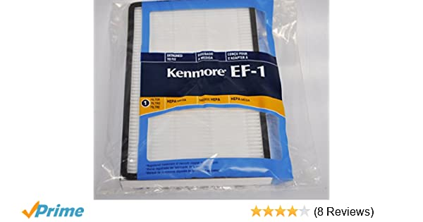 c1c5537c6b90 Amazon.com - Kenmore EF-1 Vacuum Cleaner Filter 86889 - Household Vacuum  Filters Upright