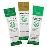 On-the-Go Premium Matcha Green Tea Travel Packets (The Original Pack) (3 single serving packets)