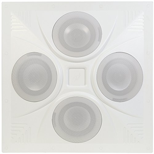 Pure Resonance Audio SD4 SuperDispersion Ceiling Speaker Array, Built-In 8 Ohm/70 V Transformer by Pure Resonance Audio
