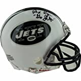 NFL New York Jets Rex Ryan Autographed Mini Helmet