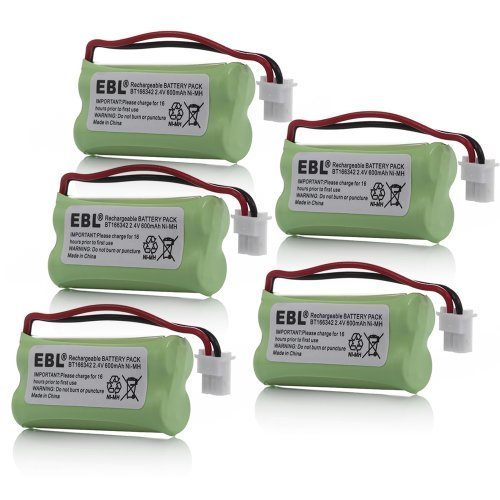 EBL 5 Pack Replacement Rechargeable Battery for BT-266342...
