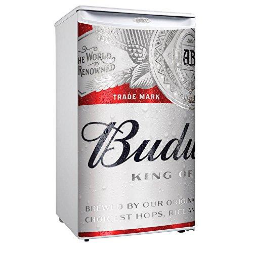 Danby Budweiser Logo Beer Compact Mini Mancave Bar Dorm Home Fridge Refrigerator