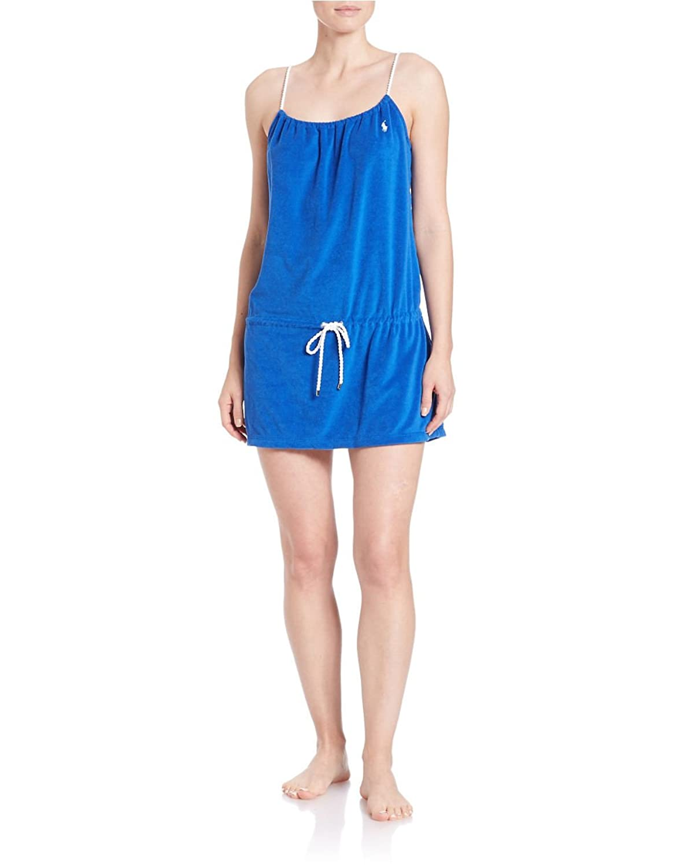 Polo Ralph Lauren Women's Terrycloth Dress Swim Cover Up