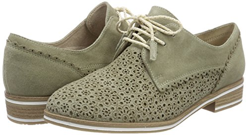 Tozzi Premio Zapatos Mujer Marco De Verde salvia Comb Cordones Para Oxford 23300 w1Ft5dx5Sq