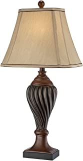 traditional table lamps for living room. Carved Two Tone Brown Table Lamp Traditional Bronze Urn by Regency Hill  Lamps