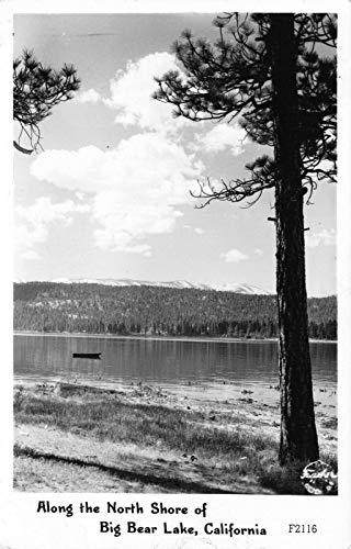 Frashers Fotos RPPC Along The North Shore of Big Bear Lake, California~121711 (Bears Shore)