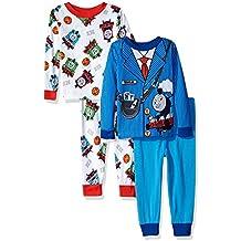 Thomas The Train & Friends Boys 4 Piece Pajamas Set (Toddler)