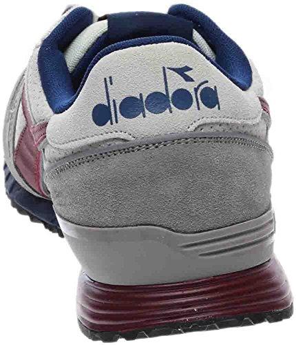 Diadora Herren Titan Premium Skateboard Schuh Saltire Marine / Bordeaux