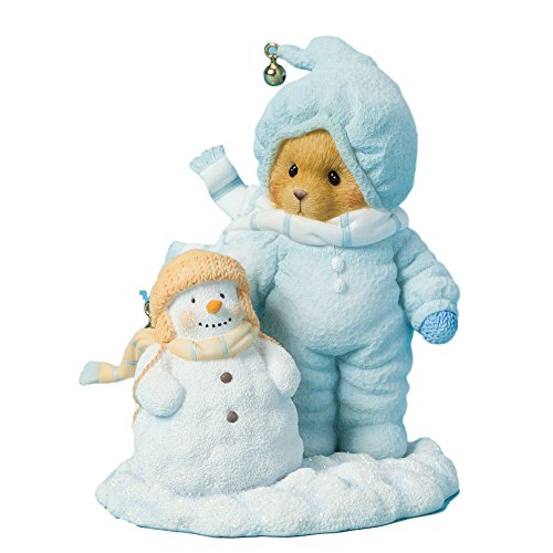 Cherished Teddies Arlis Our Friendship Will Never Melt Bear and Snowman Figurine