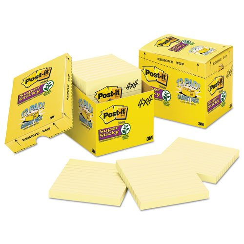 post-it-cabinet-pack-4-x-4-canary-yellow-12-90-sheet-pads-pack