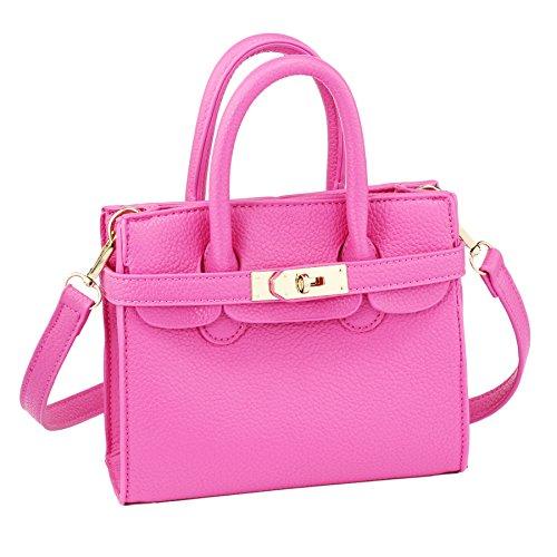 CMK Trendy Kids Python Grain Crossbody Handbags Purses for Girls With Rhinestone Sheep 1 (Classic -
