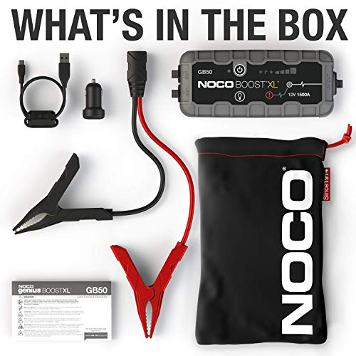 NOCO Boost XL GB50 1500 Amp 12V UltraSafe Lithium Jump Starter by NOCO (Image #4)