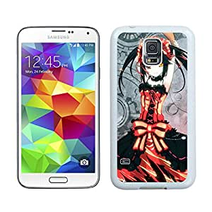 Date A Live 1 White For Samsung Galaxy S5 Case Genuine and Cool Design